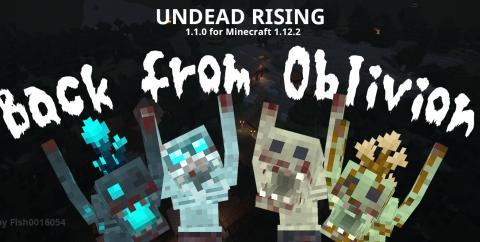 Fish's Undead Rising [1.13.2] [1.12.2] (опасные и необычные мобы)