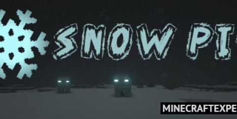 Snow Pig [1.16.5] [1.15.2] [1.12.2] (морозная свинья)