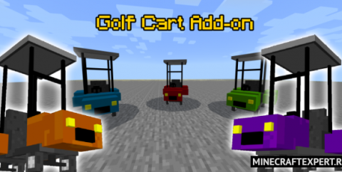 Golf Cart [1.16] (мод на Гольф кар)