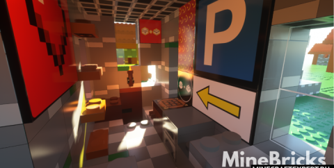 MineBricks [1.17.1] [1.16.5] (128x) — Лего Майнкрафт