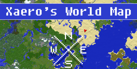 Xaero's World Map [1.16.5] [1.15.2] [1.12.2]