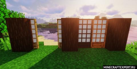 Macaw's Doors [1.17.1] [1.16.5] [1.15.2] [1.12.2] — новые варианты дверей