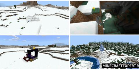 Cид — 15 деревень, 5 иглу, 5 порталов, подводный храм [1.16]