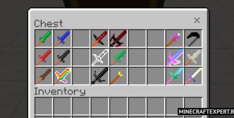 Weaponry [1.16] (мод на мечи Майнкрафт ПЕ)