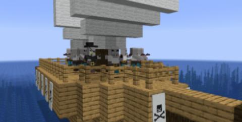 Pirates And Looters [1.15.2] (корабли с пиратами и скелетами)