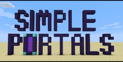 Simple Portals [1.16.3] [1.15.2] [1.12.2] (порталы)