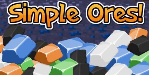 SimpleOres [1.16.4] [1.15.2] [1.12.2] [1.7.10] (новые руды)
