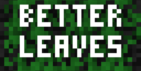 Better Leaves [1.16.5] [1.15.2] (пушистые листья)