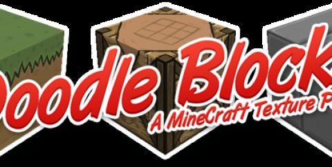 Doodle Blocks – HD Cartoon Resource Pack 1.7.10/1.7.2/1.6.4 [256x]