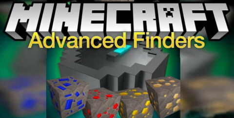 Advanced Finders [1.16.4] [1.15.2] [1.12.2] (компас для поиска руды)