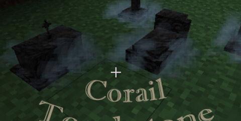 Corail Tombstone [1.16.5] [1.15.2] [1.12.2] — сохранение вещей из инвентаря