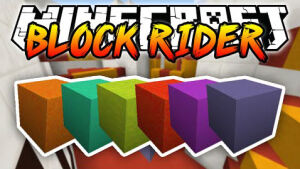 Block Rider Map 1.8.3 by 5uperTrinity