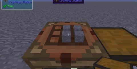 Crafting Station [1.16.3] [1.15.2] [1.12.2] (станция крафта из Tinkers' Construct)
