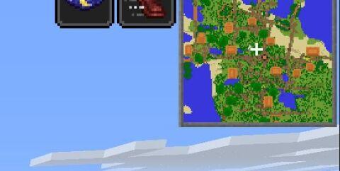 Travellers Map [1.16.4] [1.15.2] (карта путешественника с метками)