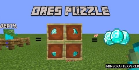 Ores Puzzle Add-On [1.17] — осколки руды