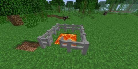 Iron Fence Mod [1.7.2]