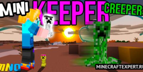 Keeper Creeper [1.17] [1.16] — приручение криперов