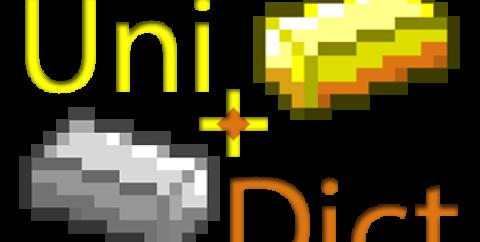 UniDict [1.12.2] [1.11.2] [1.10.2] (дублирование руды)