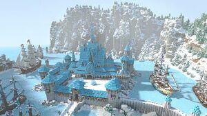 Arendelle Frozen Map 1.7.10