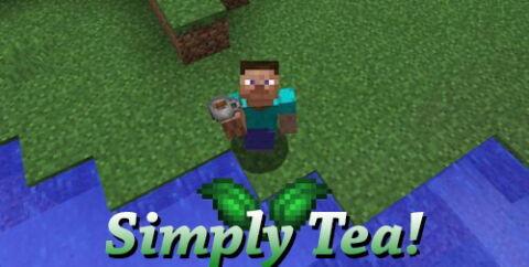 Simply Tea! [1.16.5] [1.15.2] [1.12.2] (мод на чай)