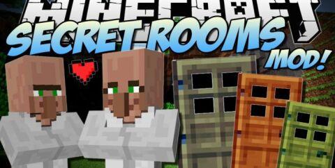 Secret Rooms [1.16.5] [1.12.2] [1.7.10] (секретные комнаты и тайники)
