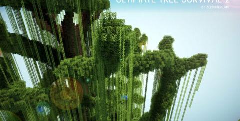 Ultimate Tree Survival 2 — выживание на дереве [1.12.2]