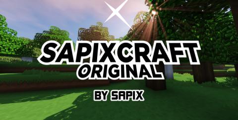 SapixCraft Original [1.16.3] [1.15.2] [1.14.4] [1.12.2] (512x — 16x)