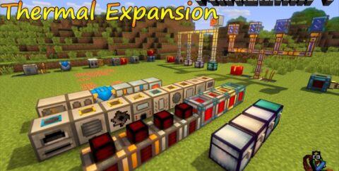 Thermal Expansion [1.16.5] [1.15.2] [1.12.2] (механизмы и автоматизация)