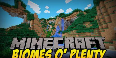 Biomes O' Plenty [1.16.4] [1.15.2] [1.12.2] [1.7.10] (красивые биомы)