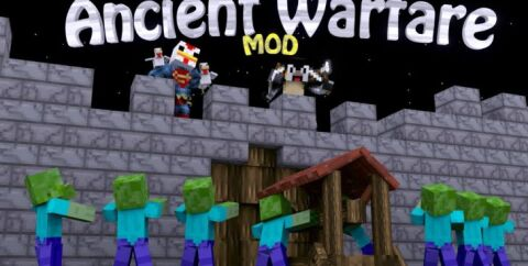 Ancient Warfare [1.12.2] [1.7.10] (NPCs, фермы и карьеры)