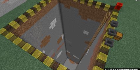 Quarry Add-On [1.16] [1.14] (мод на карьер для Майнкрафт ПЕ)