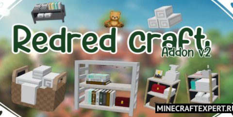 Redred Craft 2 [1.16] — мебель и декор