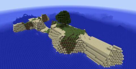 Сид на выживание — меленький остров и подводная крепость [1.12.2] [1.11.2]