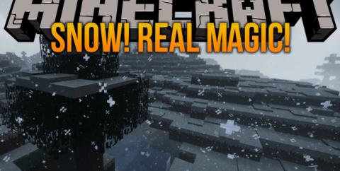 Snow! Real Magic! [1.14.4] [1.12.2] (реалистичный снег с физикой)