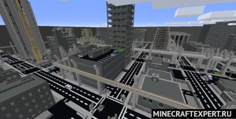 Horizon City 2020 [1.16.5] [1.15.2] (огромный город)