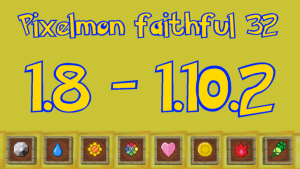 Pixelmon's faithful Аддон [1.10.2] [1.9.4] [1.8.9] (x32)