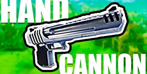 Hand Cannon — пушка стреляющая ядрами [1.12.2]