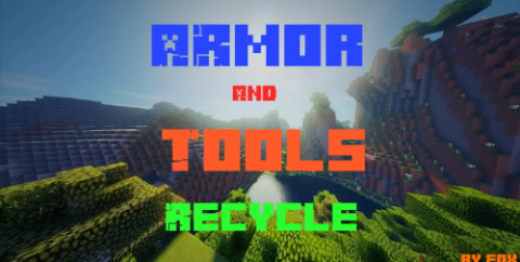 Armor and Tools Recycle by Fox [1.16.1] (переработка интрументов и брони)