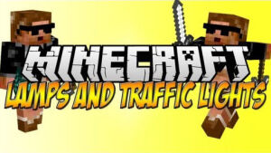 Lamps And Traffic Lights Mod [1.7.2] [1.6.4]