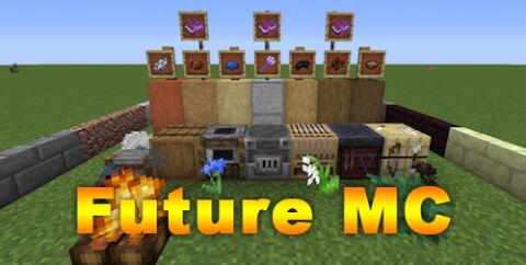 Future MC [1.15.2] [1.12.2] (предметы из новых версий игры)