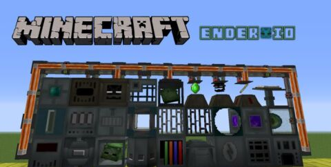 Ender IO [1.12.2] [1.7.10] (эндер технологии)