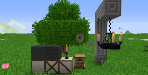 Rustic [1.12.2] (блоки и мебель из средневековья)