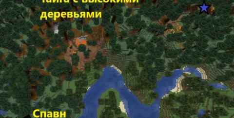 Сид — Деревня в тайге с высокими деревьями [1.16.3]