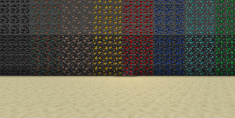 Dense Ores: Refabricated [1.17.1] — cпресованные блоки руды