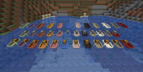 Extra Boats [1.15.2] [1.14.4] (новые виды лодок)