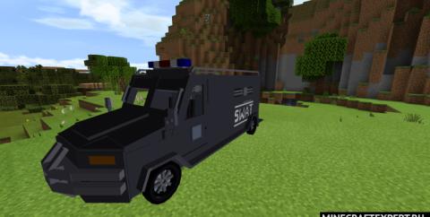 SWAT [1.16] (машина спецназа и спецназовцы)