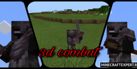 3D Combat [1.16] (3D средневековое оружие)