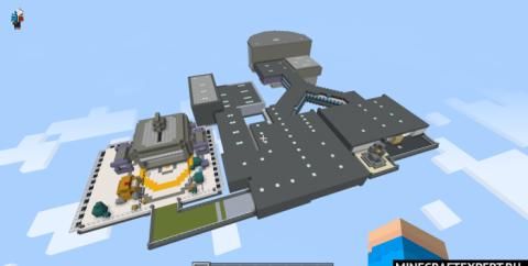 Карта Мира HQ из игры Among Us [1.16]