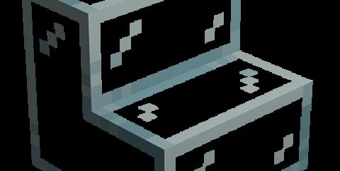MoGlass [1.16.4] [1.15.2] [1.14.4] (стеклянные ступени и полублоки)