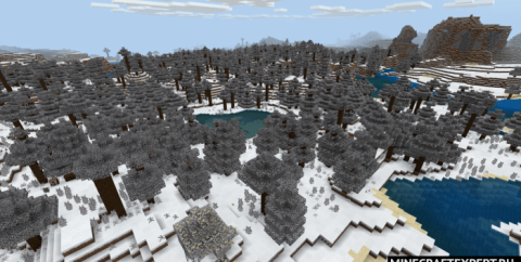 Snow Pack [1.16] (зимний текстур пак)